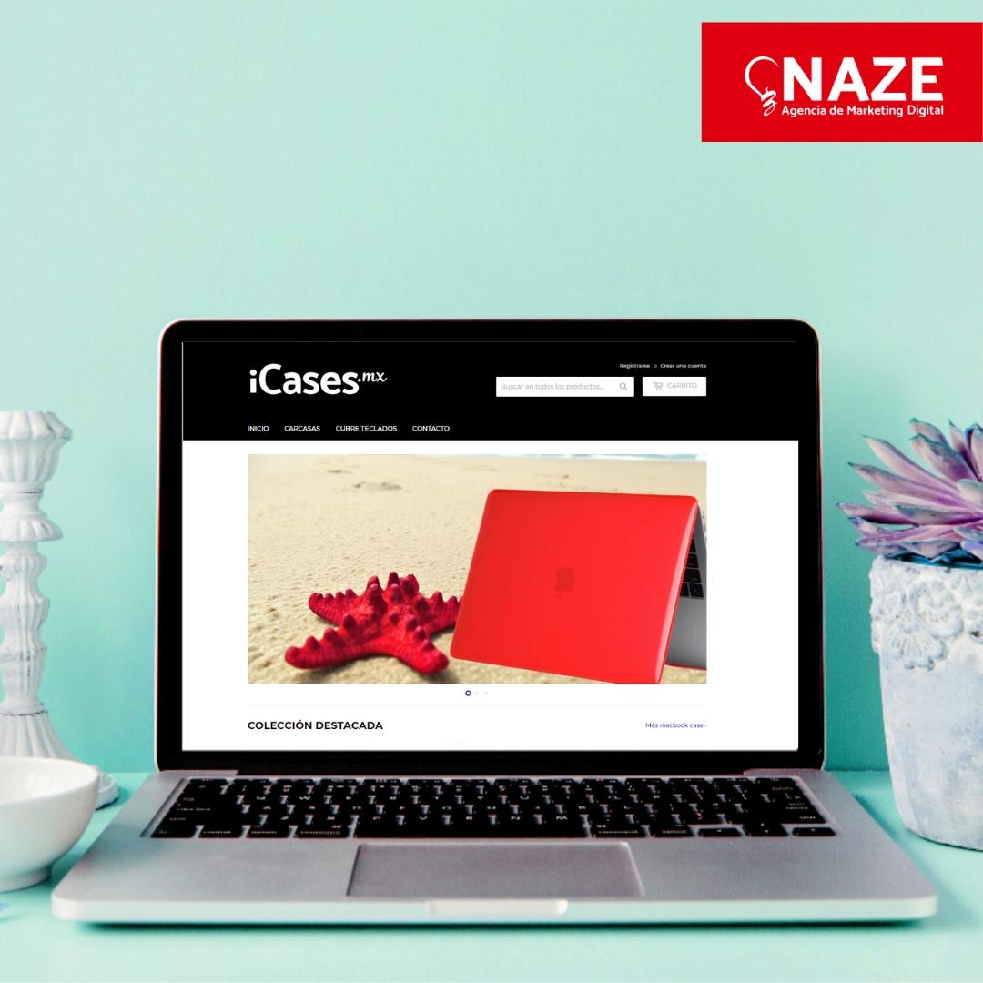 NAZE Agencia de Marketing Digital e-commerce y Publicidad - shopify partners - consultora certificada de mercado libre-icases
