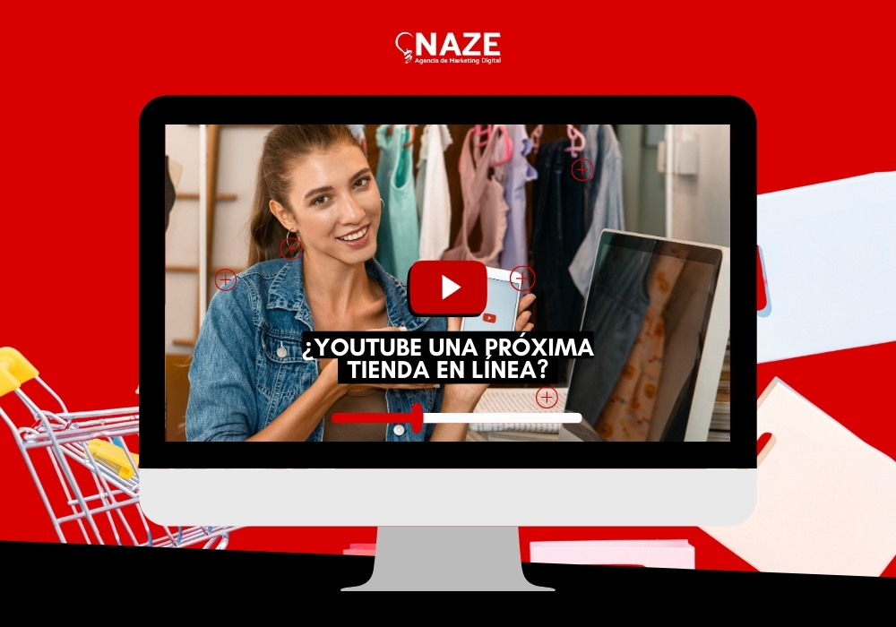 NAZE Agencia de Marketing Digital e-commerce y Publicidad - shopify partners - consultora certificada de mercado libre-Youtube