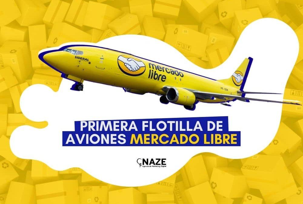 Primera flotilla de aviones mercado libre