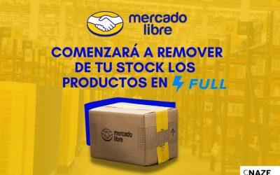 Mercado Libre comenzará a remover de tu stock los productos en Full